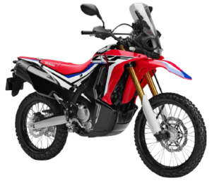 Rent a moto honda crf 250cc rally 300x257