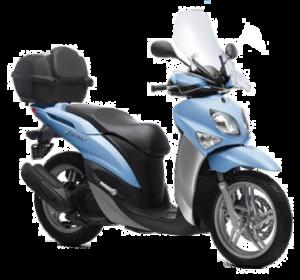 Rent a moto yamaha xenter125cc 300x280